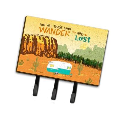 Retro Camper Camping Wander Leash or Key Holder