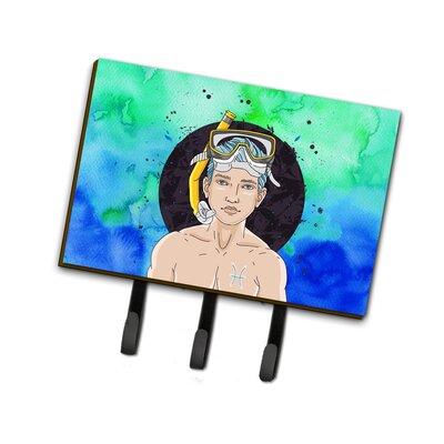 Pisces Zodiac Sign Leash or Key Holder