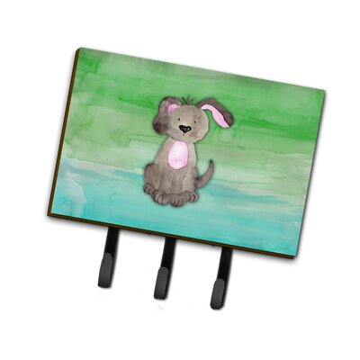 Dog Watercolor Leash or Key Holder
