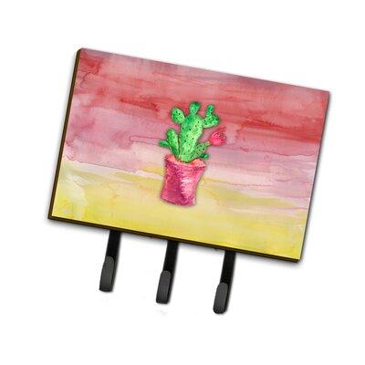 Flowering Cactus Leash or Key Holder