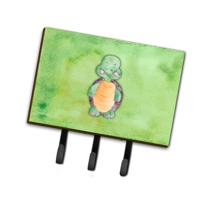 Turtle Watercolor Leash or Key Holder