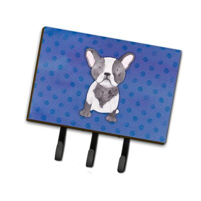 French Bulldog Polkadot Leash or Key Holder