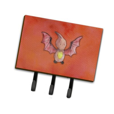 Pterodactyl Watercolor Leash or Key Holder