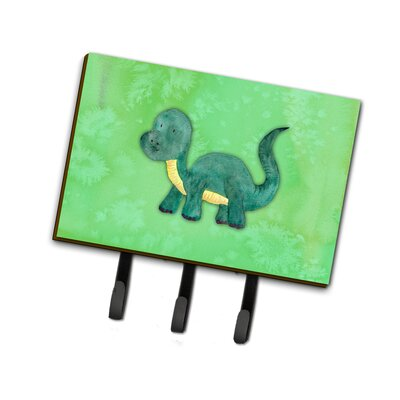 Brontosaurus Watercolor Leash or Key Holder