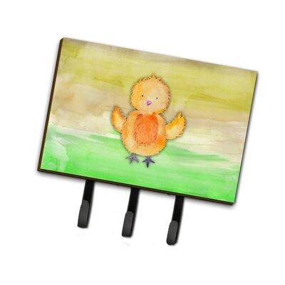 Chicken Watercolor Leash or Key Holder