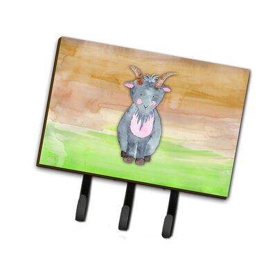 Goat Watercolor Leash or Key Holder