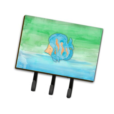 Fish Watercolor Leash or Key Holder
