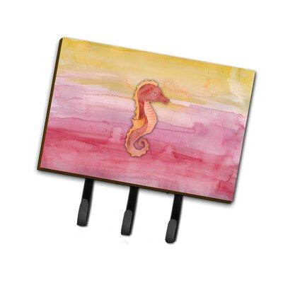 Seahorse Watercolor Leash or Key Holder