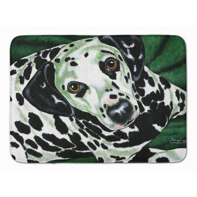 Emerald Beauty Dalmatian Memory Foam Bath Rug