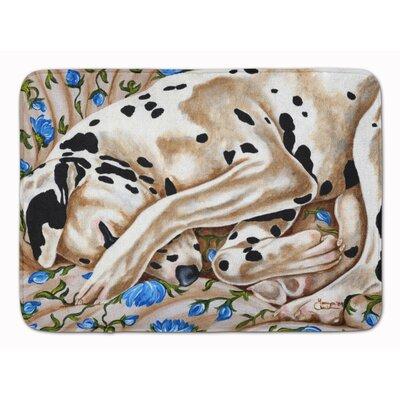 Bed of Roses Dalmatian Memory Foam Bath Rug