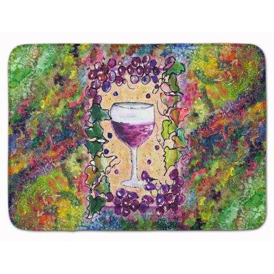 Wine Memory Foam Bath Rug