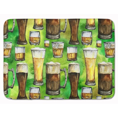 Irish Beers Memory Foam Bath Rug