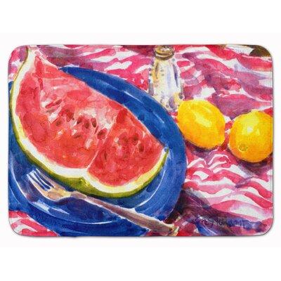Watermelon Memory Foam Bath Rug
