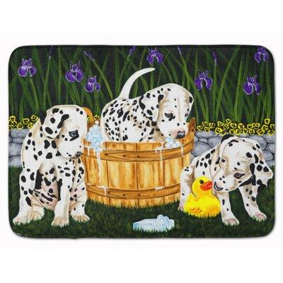 Pass the Soap Dalmatian Memory Foam Bath Rug