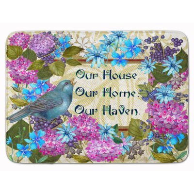 Our House Our Home Our Haven Memory Foam Bath Rug