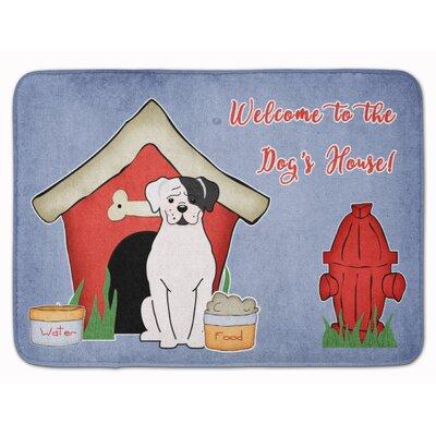 Dog House Boxer Cooper Memory Foam Bath Rug