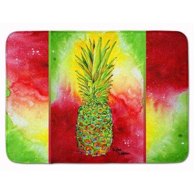 Azalea Pineapple Memory Foam Bath Rug