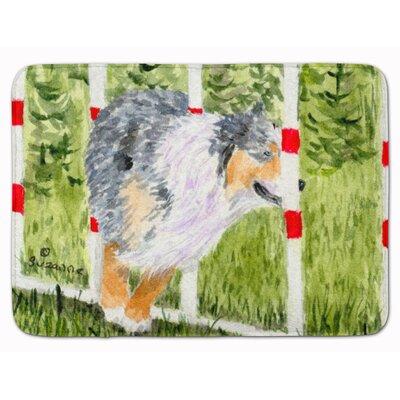 Australian Shepherd Memory Foam Bath Rug