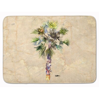 Bellamira Palm Tree Memory Foam Bath Rug