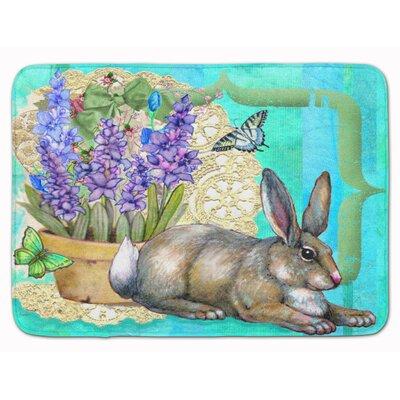 Justin Easter Rabbit Memory Foam Bath Rug