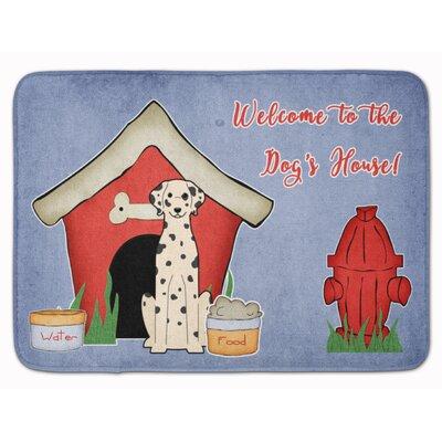 Dog House Dalmatian Memory Foam Bath Rug