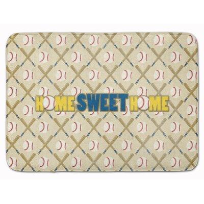 Home Sweet Home Memory Foam Bath Rug