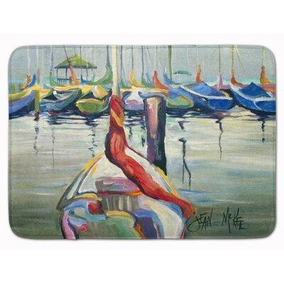 Brynn LaSalle Sailboat Memory Foam Bath Rug