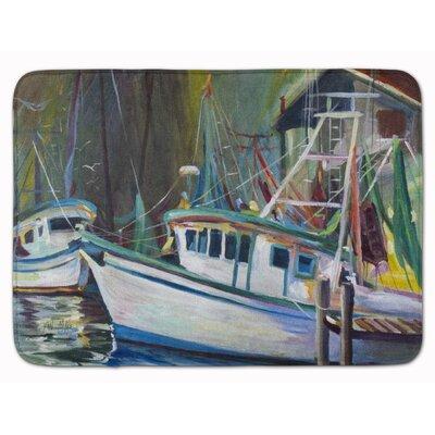 Joe Patti Shrimp Boat Memory Foam Bath Rug