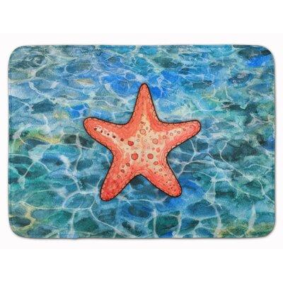 Andrews Starfish Memory Foam Bath Rug