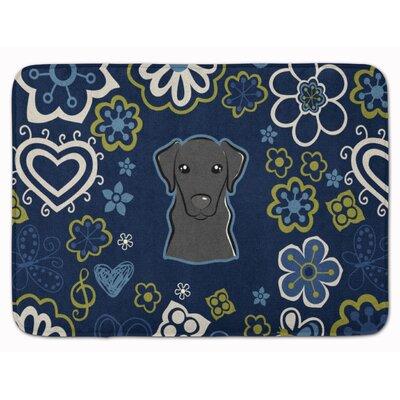 Labrador Memory Foam Bath Rug Color: Black