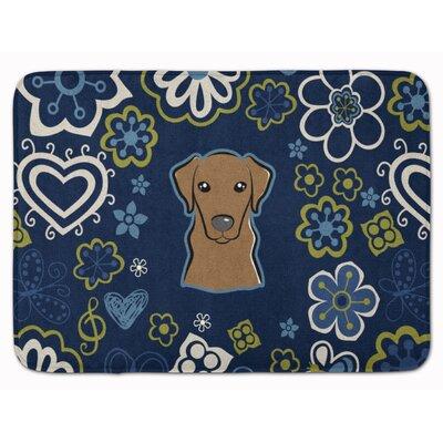 Labrador Memory Foam Bath Rug Color: Chocolate