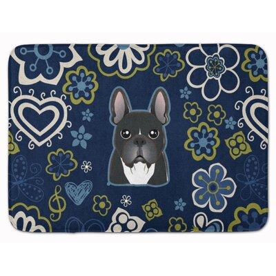 French Bulldog Memory Foam Bath Rug