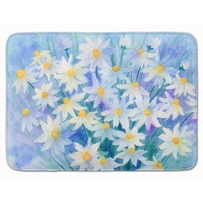 Daisies Memory Foam Bath Rug
