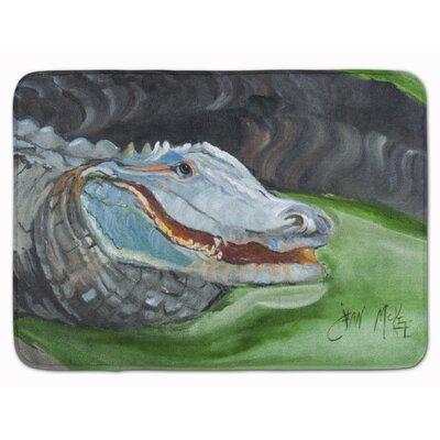 Alligator Memory Foam Bath Rug