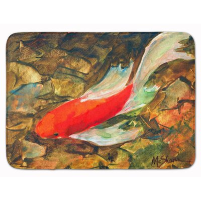 Louis Koi Fish Memory Foam Bath Rug