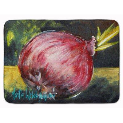 Vegetables/Onion One-Yun Memory Foam Bath Rug