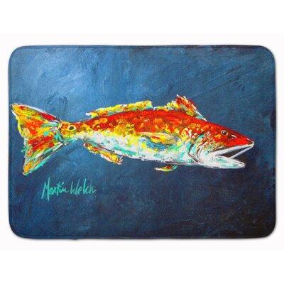Fish for Jarett Memory Foam Bath Rug