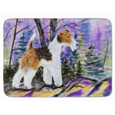 Fox Terrier Memory Foam Bath Rug