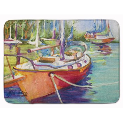 Sailboat Memory Foam Bath Rug