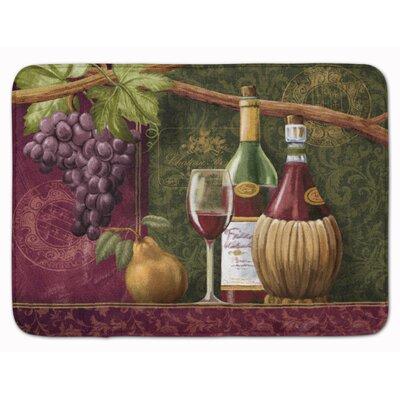 Blair Wine Chateau Roma Memory Foam Bath Rug