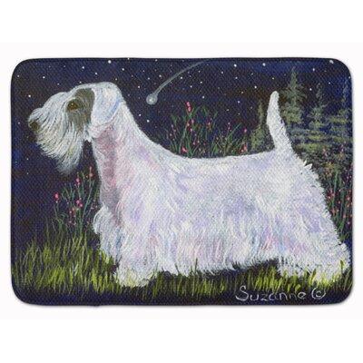 Sealyham Terrier Memory Foam Bath Rug