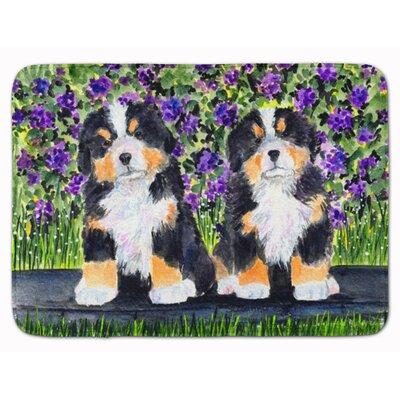 Bernese Mountain Dog Memory Foam Bath Rug