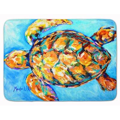 Bayberry Dance Turtle Memory Foam Bath Rug