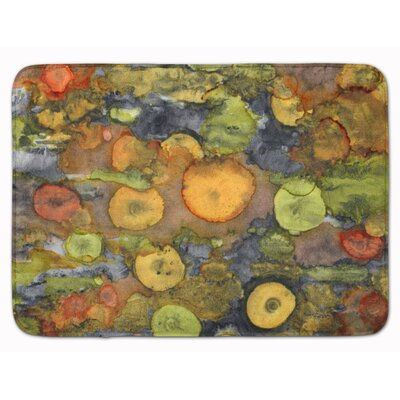 Abstract with Mother Earth Memory Foam Bath Rug