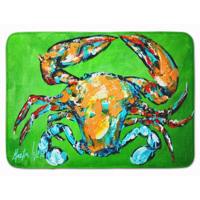 Crab Wide Load Memory Foam Bath Rug
