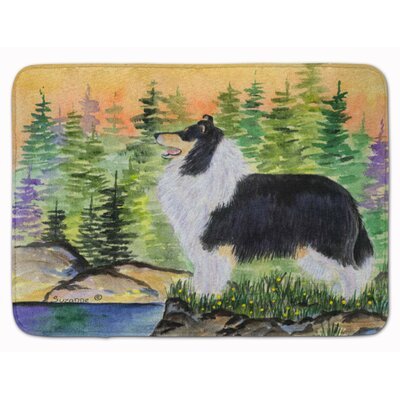 Collie Memory Foam Bath Rug