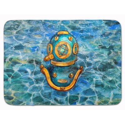 Deep Sea Diving Helmet Memory Foam Bath Rug
