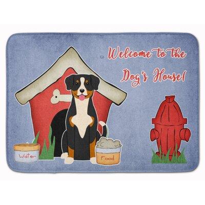 Dog House Entlebucher Memory Foam Bath Rug