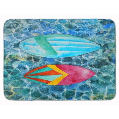 Cambridge Surf Boards on the Water Memory Foam Bath Rug