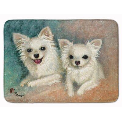 Chihuahua The Siblings Memory Foam Bath Rug
